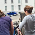 Mer plats i cykelstället